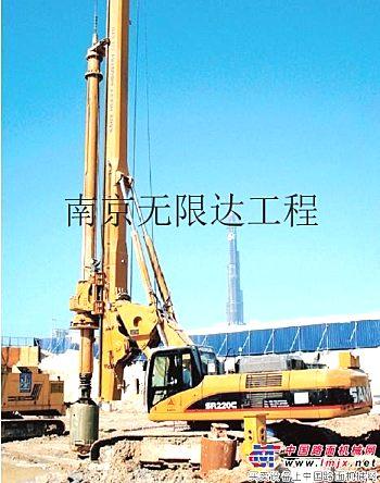 芜湖出租三一220旋挖钻机,南京无限达低价租赁