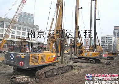 出租徐工280,360旋挖钻机,济南和临沂地区