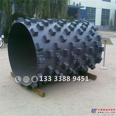 供应徐工压路机可拆装羊角碾 凸块轮 羊脚蹍