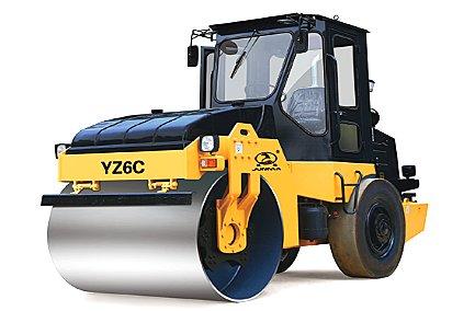 YZ6C/YZD6C型单钢轮振动/振动振荡压路机