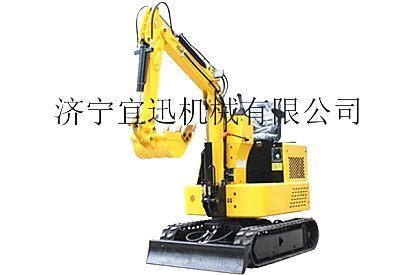 供应宜迅YX-10微型履带式挖掘机