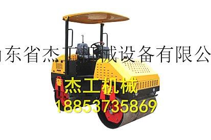 小型工程路面压路机 全液压双钢轮座驾压实机
