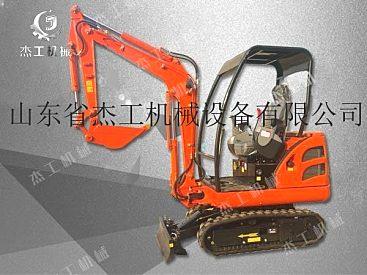 杰工履带小型挖沟机 工程挖掘机厂家直销