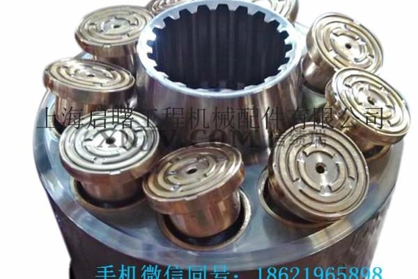 供應沃爾沃EC750E液壓泵配件-泵膽-配流盤