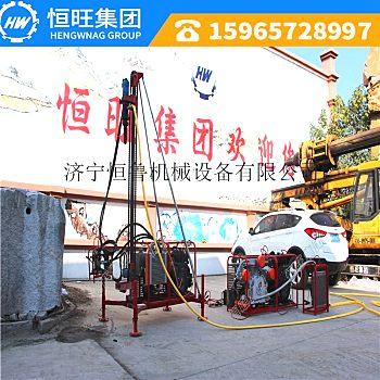 红色潜孔钻机 方便拆卸的便携式钻孔机 HW-30小型山地钻机