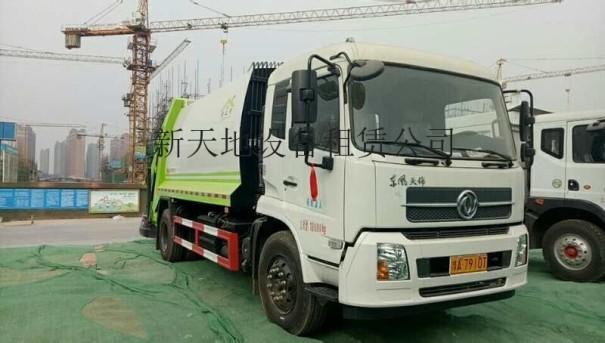 许昌东风153垃圾车出租
