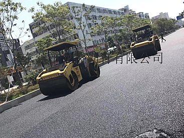 深圳沥青工程队-停车场沥青路面施工画线