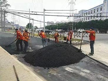 东莞沥青混凝土工程队-雨污分流路面恢复