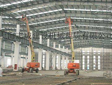 供应嘉兴平湖860SJP高空作业车出租,嘉善升降机厂房安装出租