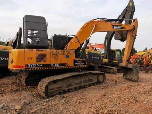 西宁低价出售二手三一215、235和365挖掘机,全国包运到家