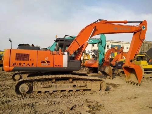 西宁低价转让原装二手日立200、240和350挖掘机,支持分期
