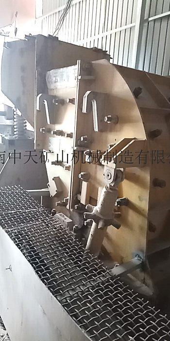 出售二手云南中天zfc40型二合一破碎机复合式破碎机
