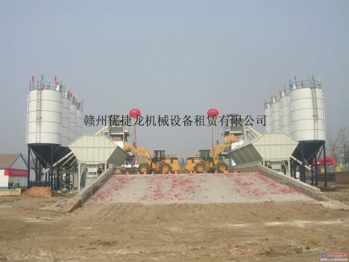 出租三一HZS50混凝土搅拌站-合作承包按月多种租赁方案
