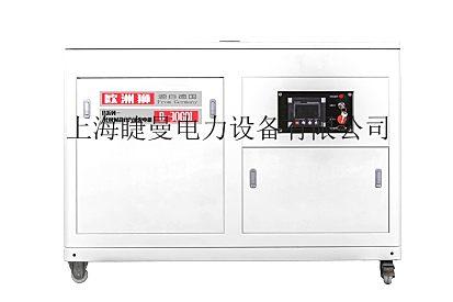 静音30千瓦汽油发电机办公室用