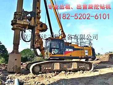 浙江杭州出租徐工360旋挖钻机,旋挖钻机用途说明