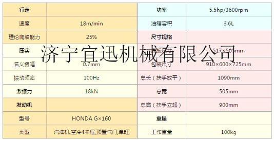 供应宜讯YX-DX24平板夯