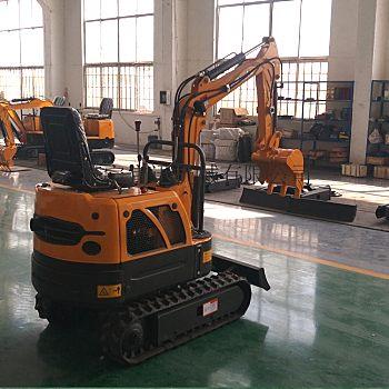 供应宜讯YX-10微型农用田园挖掘机
