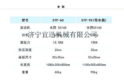 供应宜讯YX-90单向平板夯
