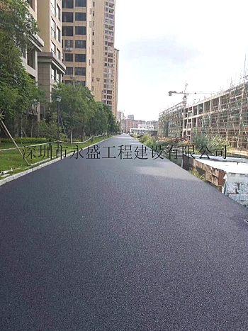 深圳沥青混泥土/沥青路面承包施工修补公司