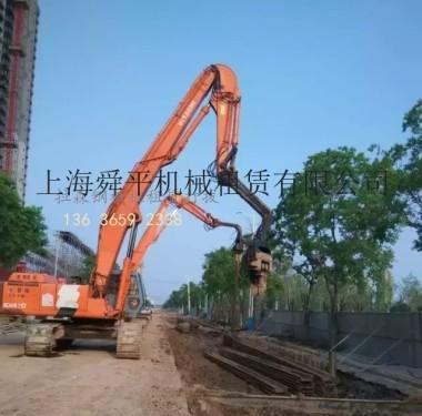 上海出租三一ED490打桩机拉森钢板桩打拔支护青浦区拉森钢板桩走道板路基箱租赁