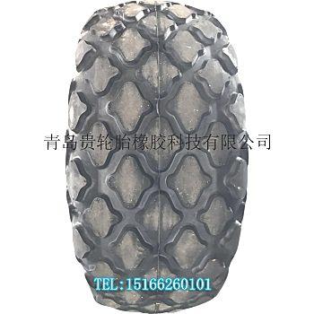 洛建 徐工23.1-26压路机轮胎 23.1/26 菠萝花纹
