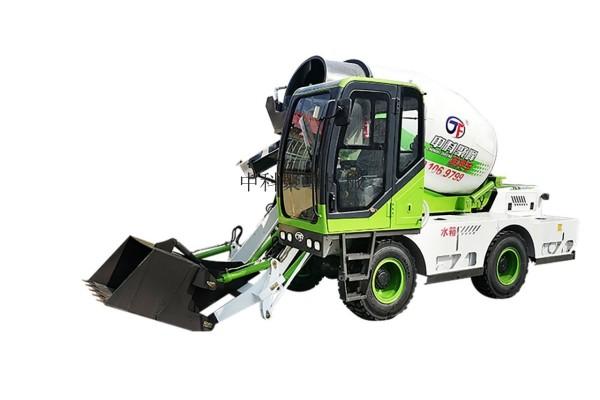 供應中科聚峰JF-4.0方水泥運輸車混凝土攪拌車