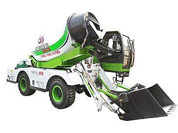 供应中科聚峰JF-4.0方水泥运输车混凝土搅拌车