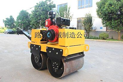 供应路霸手扶式双钢轮压路机