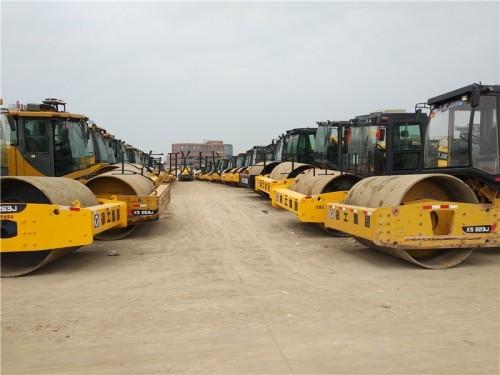 天津二手压路机市场||出售二手徐工22吨26吨振动压路机