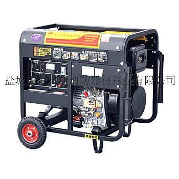 供应3-10KW风冷开架式小型家用便捷式电动柴油发电机组