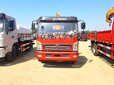 厂家直销6.3吨随车吊可分期购车现车先提。