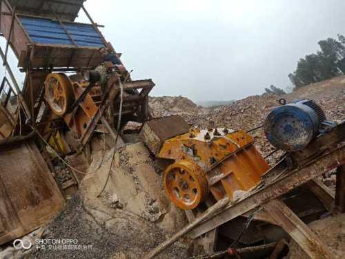 出售二手斗山二手破碎机制砂机制砂设备