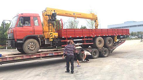 出售二手东风12吨随车吊