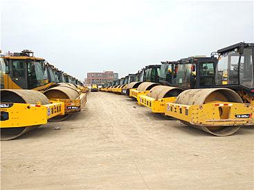 河池二手压路机市场  出售二手徐工22吨26吨压路机