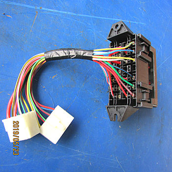 供应徐工XP260配件803604639-XGBX414-1保险丝盒(带线束)