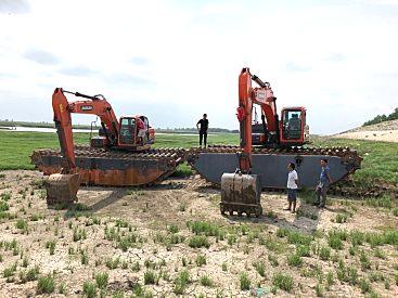 水陆两用挖掘机出租 水陆挖掘机出租 水挖机租赁