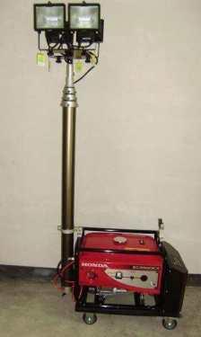 液压桅杆灯塔