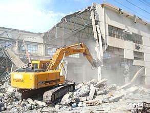 东莞出租挖机,拆房,挖基础,市政工程