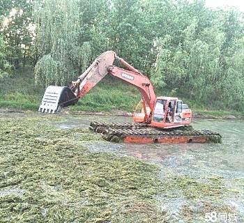 全国出租湿地挖掘机出租水上挖掘机出租租赁价格优惠