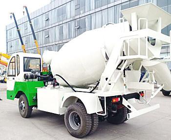 供应祥瑞重工自制底盘4—8方混凝土搅拌运输车