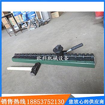 供应欧克机械选矿机械  V6锤式钉扣机 矿用皮带打扣机 高强度强力锤式订扣机