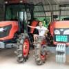 出租久保田954拖拉机,旋耕机,收割机,开荒犁,开沟机