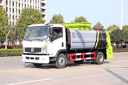 内蒙古鄂尔多斯厂家直销5方-东风凯马餐厨垃圾车全国均可办理分期
