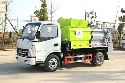内蒙古乌兰察布厂家直销5方-东风凯马餐厨垃圾车全国均可办理分期