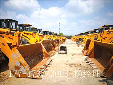 晋城二手铲车市场||出售二手龙工3吨5吨装载机