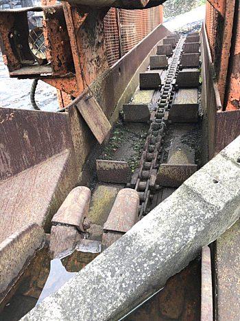 二手挖掘式装载机(扒渣机)
