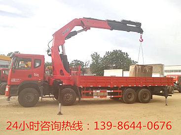 甘肃东风T5前四后八12吨14吨随车吊出售可分期