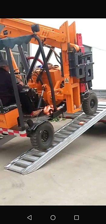 供应叉装车上下车铝爬梯久达大象牌铝梯