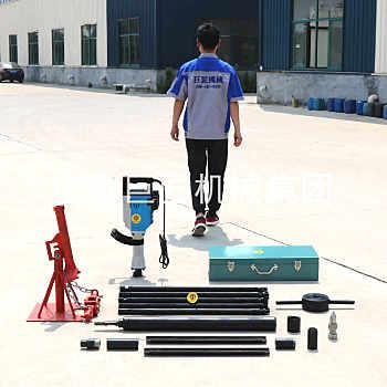巨匠供应20米便捷式电动取土钻机QTZ-3D勘探取样钻机速度快