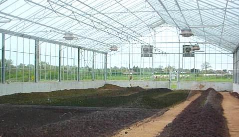 供应YOLI太阳能污泥干化温室